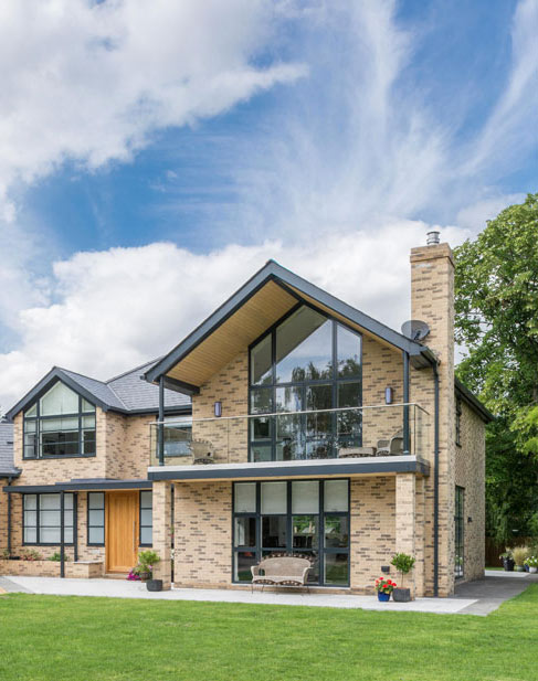 Self build modern house in Impington Cambridgeshire