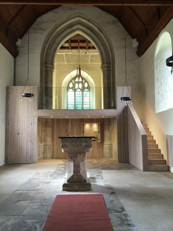 St Nicholas Great Wilbraham church architect
