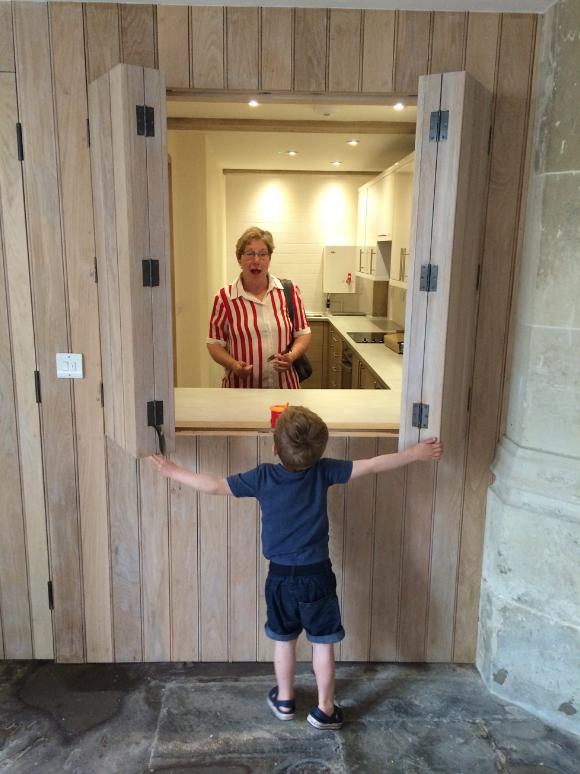 New kitchen facility for parish church
