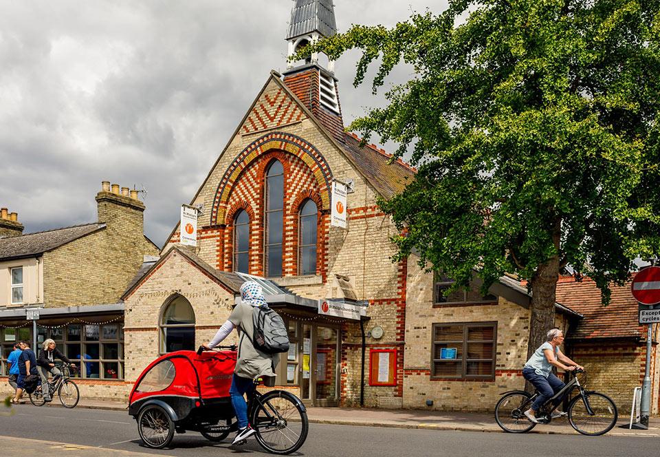 Architects renewed St Philips Church Mill Road Cambridge