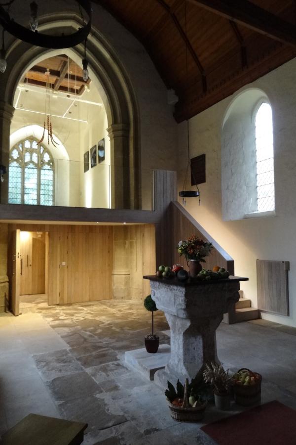 Community facilities transform medieval parish church St Nicholas
