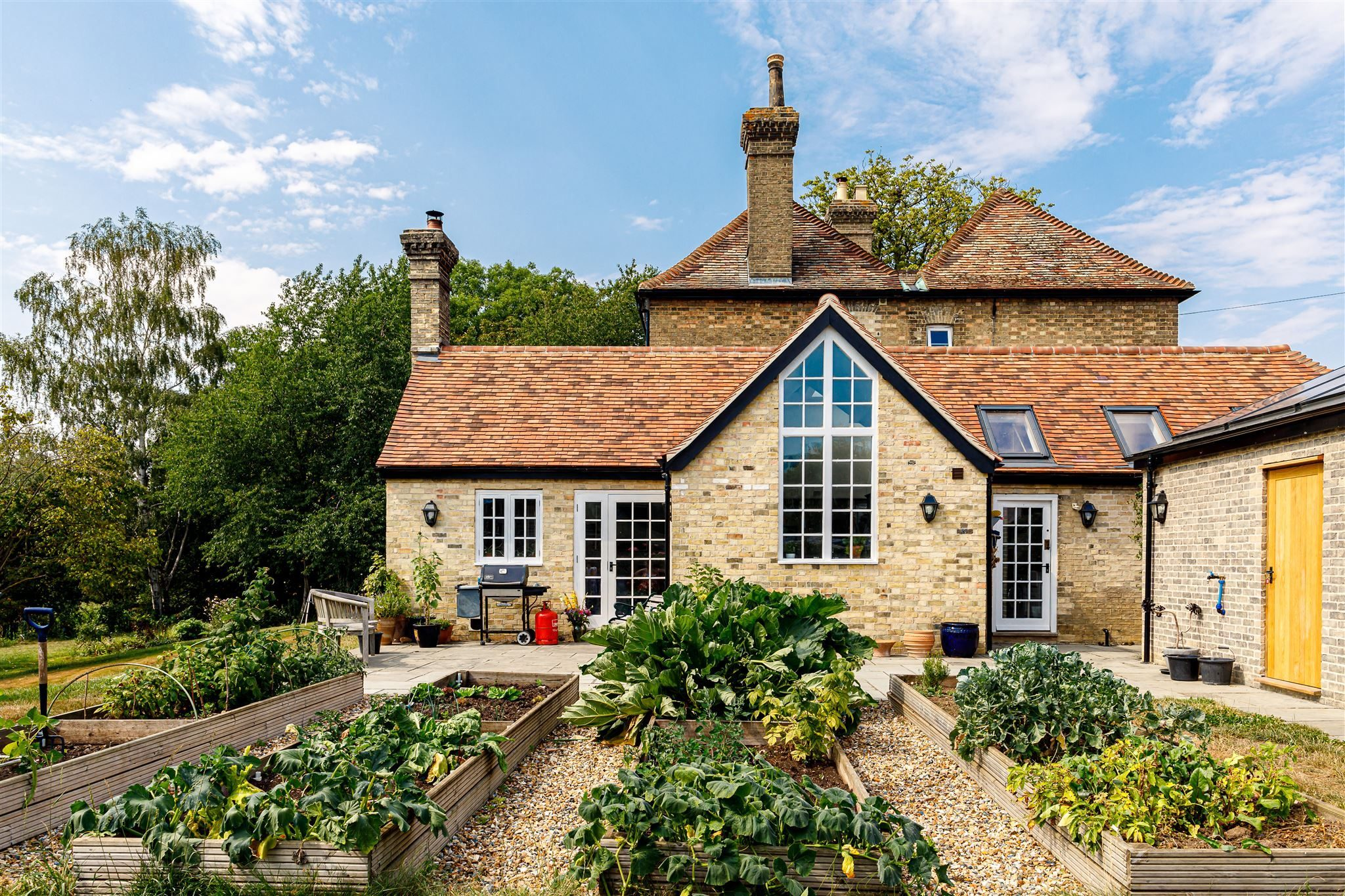 Dernford House off grid eco refurbishment of a Victorian farmhouse in Cambridgeshire