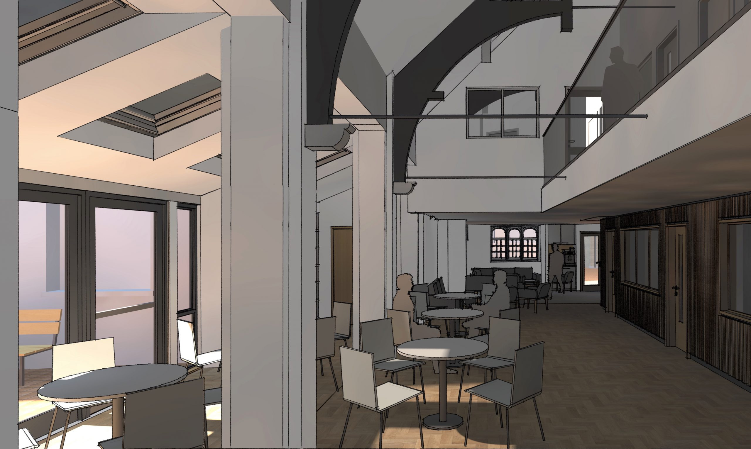 Downing Place URC Church upgrade architect