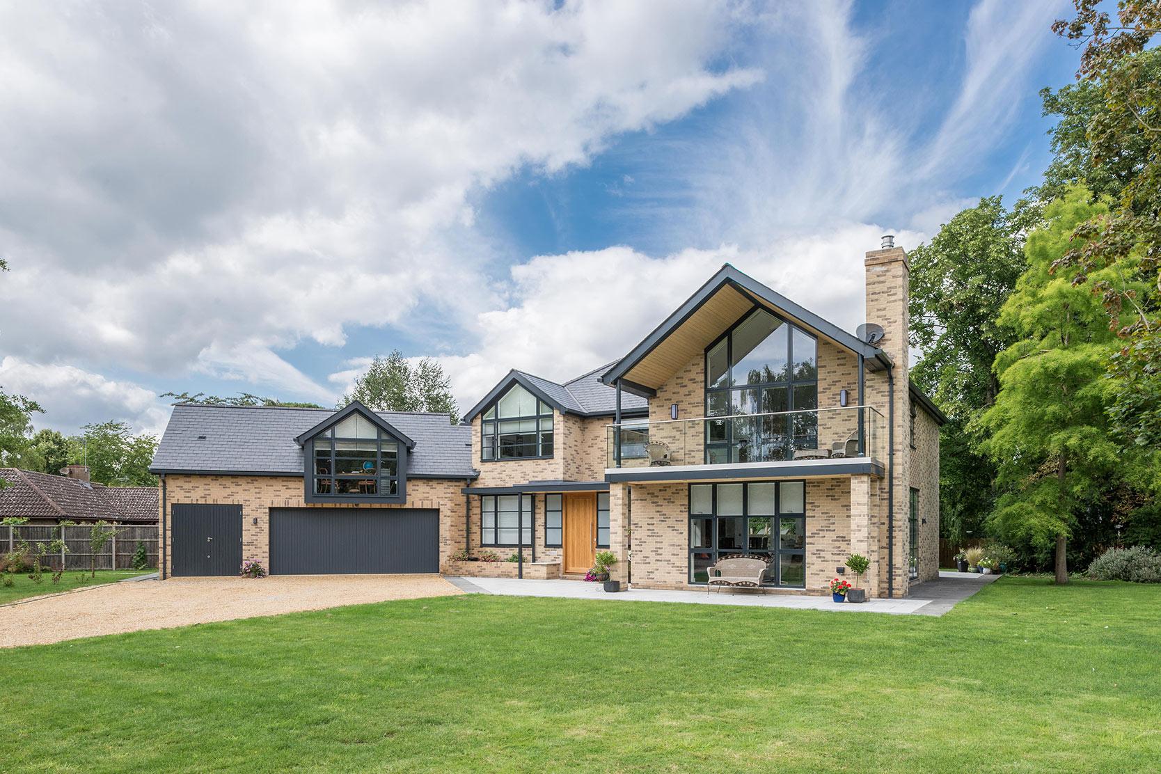 Architect designed Landsdowne House Impington cambridgeshire