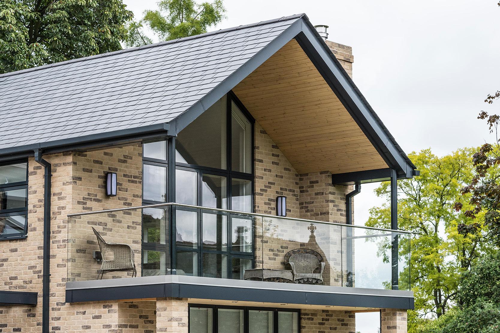 Lansdown architect designed house Impington Cambridgeshire