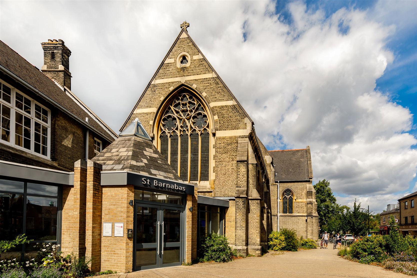 St Barnabas Church Mill Road Cambridge architects