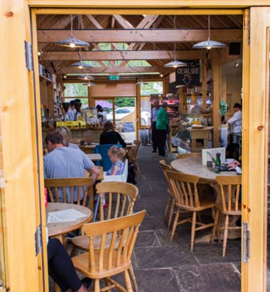 Shelford Deli architect designed community cafe space