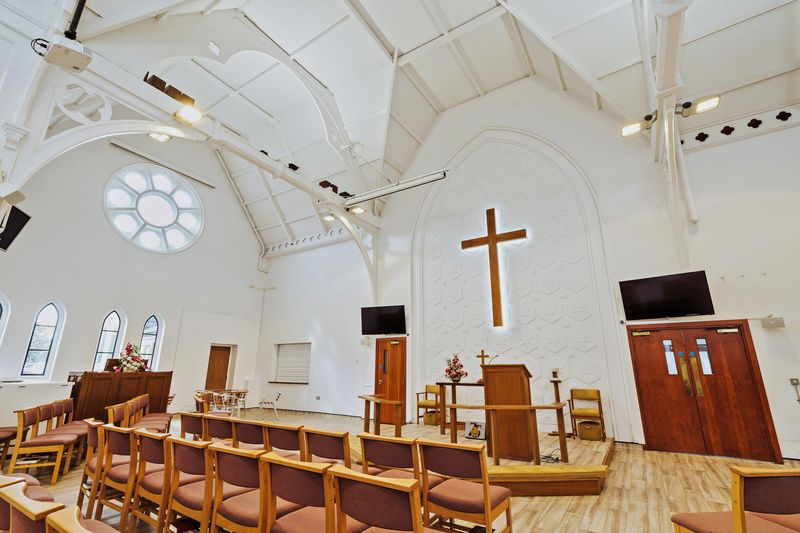 Trinity Methodist Church Clacton on Sea after architect led restoration