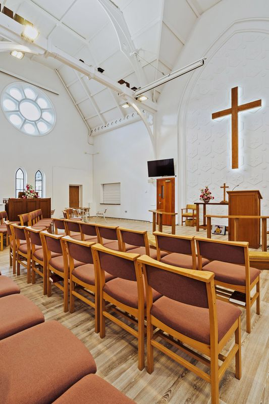 Completed refurbishment of Trinity Church Clacton