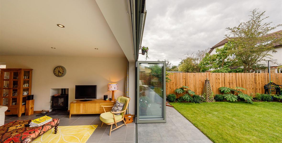 Woolbrook indoor outdoor living in a Cambridge village new build