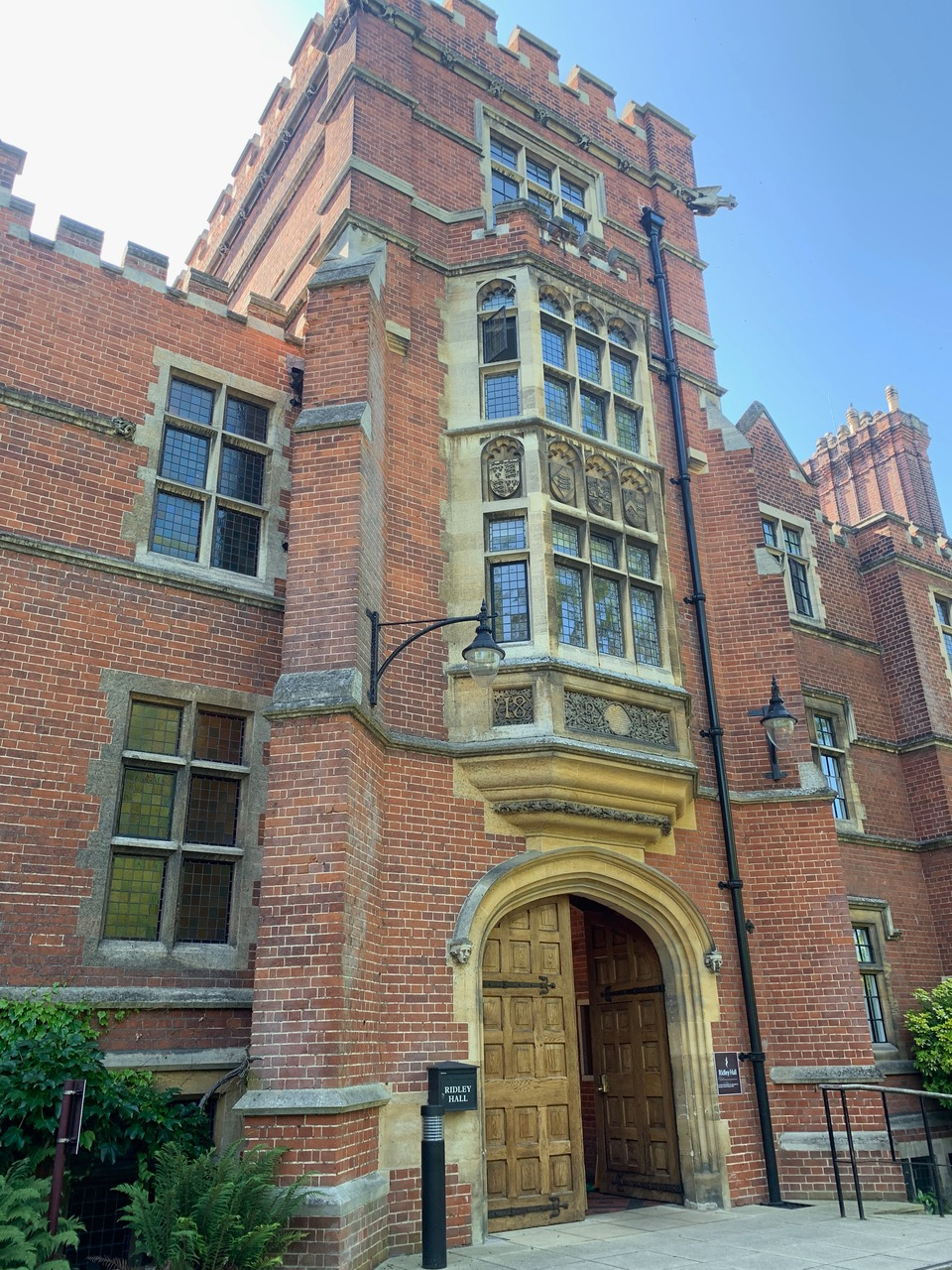 Ridley Hall Cambridge College architect accessibility project