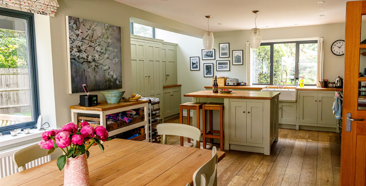 Cabbage Moor kitchen extension great shelford kitchen